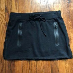 Fabletics black mini skirt